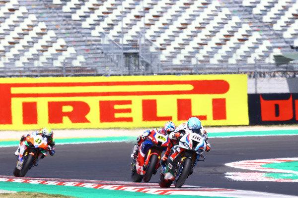 Tom Sykes, BMW Motorrad WorldSBK Team, Alvaro Bautista, Team HRC .