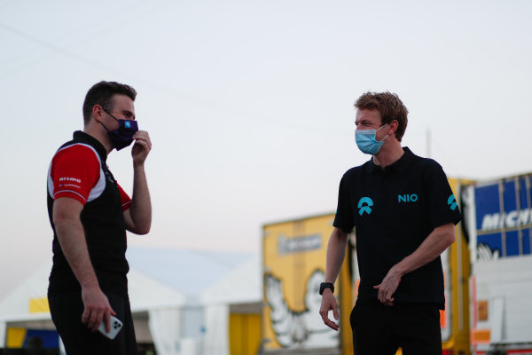 Oliver Rowland (GBR), Nissan e.Dams and Oliver Turvey (GBR), NIO 333