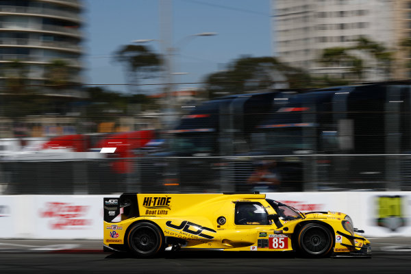 2017 IMSA WeatherTech SportsCar Championship BUBBA burger Sports Car Grand Prix at Long Beach Streets of Long Beach, CA USA Saturday 8 April 2017 85, ORECA, P, Misha Goikhberg, Stephen Simpson World Copyright: Michael L. Levitt LAT Images ref: Digital Image levitt-0417-lbgp_08644