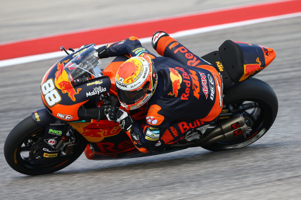 2017 Moto2 Championship - Round 3 Circuit of the Americas, Austin, Texas, USA Friday 21 April 2017 Ricard Cardus, Red Bull KTM Ajo World Copyright: Gold and Goose Photography/LAT Images ref: Digital Image Moto2-500-2150