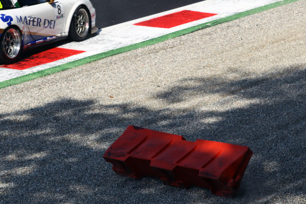 Circuit furniture in the gravel trap. Porsche Supercup, Rd 9, Monza, Italy, 10-12 September 2010.