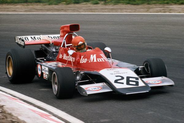 1973 Dutch Grand Prix.  Zandvoort, Holland. 27-29th July 1973.  Gijs van Lennep, Williams IR01 Ford, 6th position.  Ref: 73HOL28. World Copyright: LAT Photographic