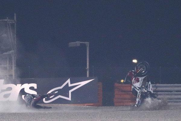 Takaaki Nakagami, Team LCR Honda crash .