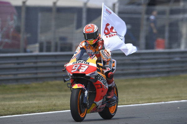 Second place Marc Marquez, Repsol Honda Team.