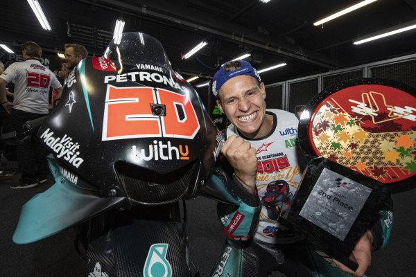 Second place Fabio Quartararo, Petronas Yamaha SRT