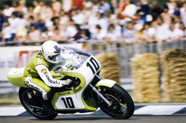 Mick Grant, Kawasaki.