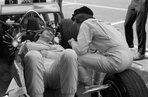 Jochen Rindt and Jackie Stewart.