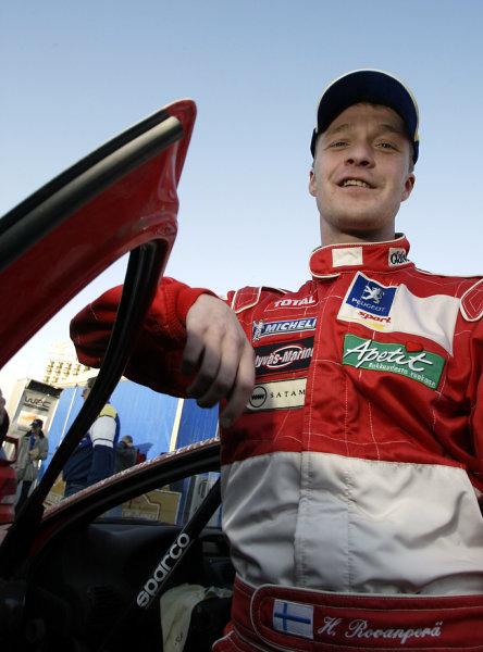 2003 FIA World Rally Championship. Kemer, Turkey. Rd3.26/2-2/3 2003.Harri Rovanpera (Peugeot).World Copyright: McKlein/LAT Photographic