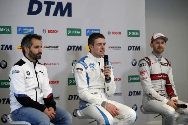 Timo Glock, BMW Team RMG, Paul Di Resta, R-Motorsport, René Rast, Audi Sport Team Rosberg.