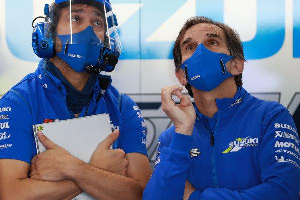 Davide Brivio, Team Suzuki MotoGP.