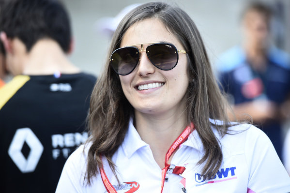 SPA-FRANCORCHAMPS, BELGIUM - AUGUST 31: Tatiana Calderon (COL, BWT ARDEN) during the Spa-Francorchamps at Spa-Francorchamps on August 31, 2019 in Spa-Francorchamps, Belgium. (Photo by Gareth Harford / LAT Images / FIA F2 Championship)