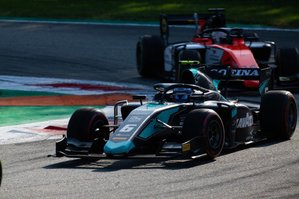 AUTODROMO NAZIONALE MONZA, ITALY - SEPTEMBER 07: Nicholas Latifi (CAN, DAMS) during the Monza at Autodromo Nazionale Monza on September 07, 2019 in Autodromo Nazionale Monza, Italy. (Photo by Joe Portlock / LAT Images / FIA F2 Championship)