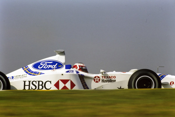 Jan Magnussen, Stewart SF2 Ford.
