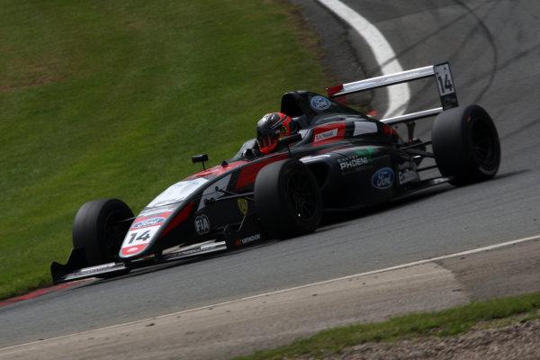 2017 British F4 Championship Oulton Park, 20th-21st May 2017, Karl Massaad (LEB) Double R Racing British F4 World copyright. JEP/LAT Images