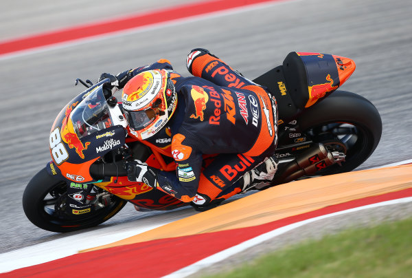2017 Moto2 Championship - Round 3 Circuit of the Americas, Austin, Texas, USA Friday 21 April 2017 Ricard Cardus, Red Bull KTM Ajo World Copyright: Gold and Goose Photography/LAT Images ref: Digital Image Moto2-500-2154
