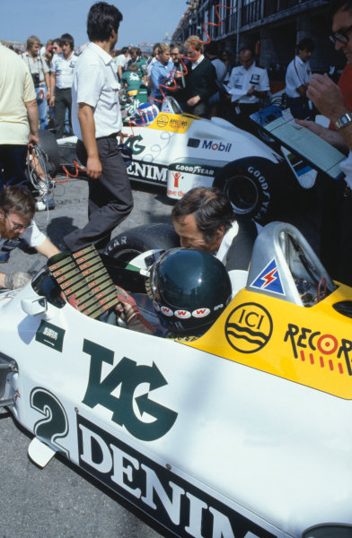 1983 Dutch Grand Prix.Zandvoort, Holland. 28 August 1983.Jacques Laffite (Williams FW08C-Ford Cosworth).World Copyright: LAT Photographicref: 35mm Transparency Image