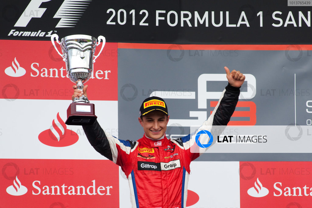 2012 GP3 Series, Round 4.