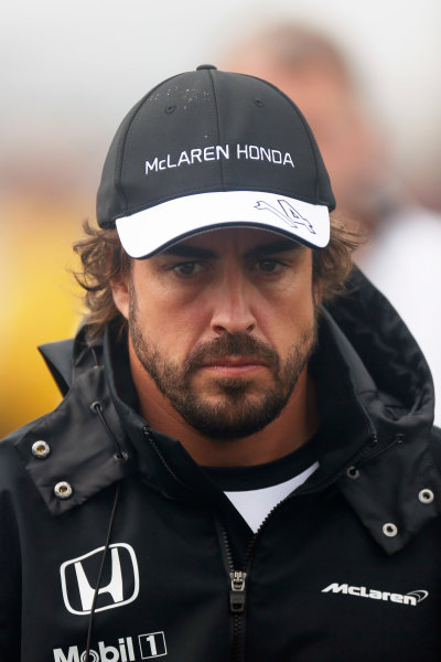 Circuit Gilles Villeneuve, Montreal, Canada. Friday 5 June 2015. Fernando Alonso, McLaren. World Copyright: Alastair Staley/LAT Photographic. ref: Digital Image _79P1597