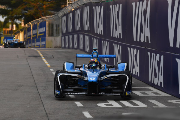 2017/2018 FIA Formula E Championship. Round 1 - Hong Kong, China. Saturday 02 December 2018. Sebastien Buemi (SUI), Renault e.Dams, Renault Z.E 17. Photo: Mark Sutton/LAT/Formula E ref: Digital Image DSC_8518