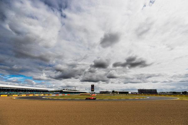 Silverstone, Northamptonshire, UK. Friday 14 July 2017. Kimi Raikkonen, Ferrari SF70H. World Copyright: Zak Mauger/LAT Images ref: Digital Image _56I8672
