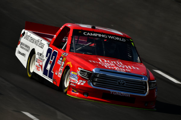 NASCAR Camping World Truck Series winstaronlinegaming.com 400 Texas Motor Speedway, Ft. Worth, TX USA Thursday 8 June 2017 Austin Self, Don't Mess With Texas Toyota Tundra World Copyright: Scott R LePage LAT Images ref: Digital Image lepage-170608-TMS-0168