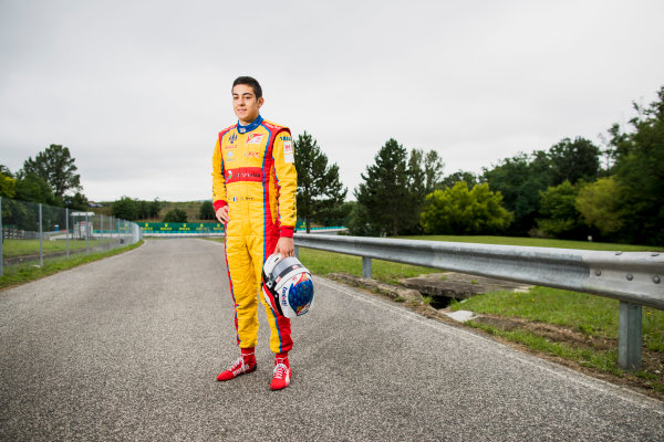 2017 GP3 Series Round 4.  Hungaroring, Budapest, Hungary. Thursday 27 July 2017. Giuliano Alesi (FRA, Trident).  Photo: Zak Mauger/GP3 Series Media Service. ref: Digital Image _56I0119