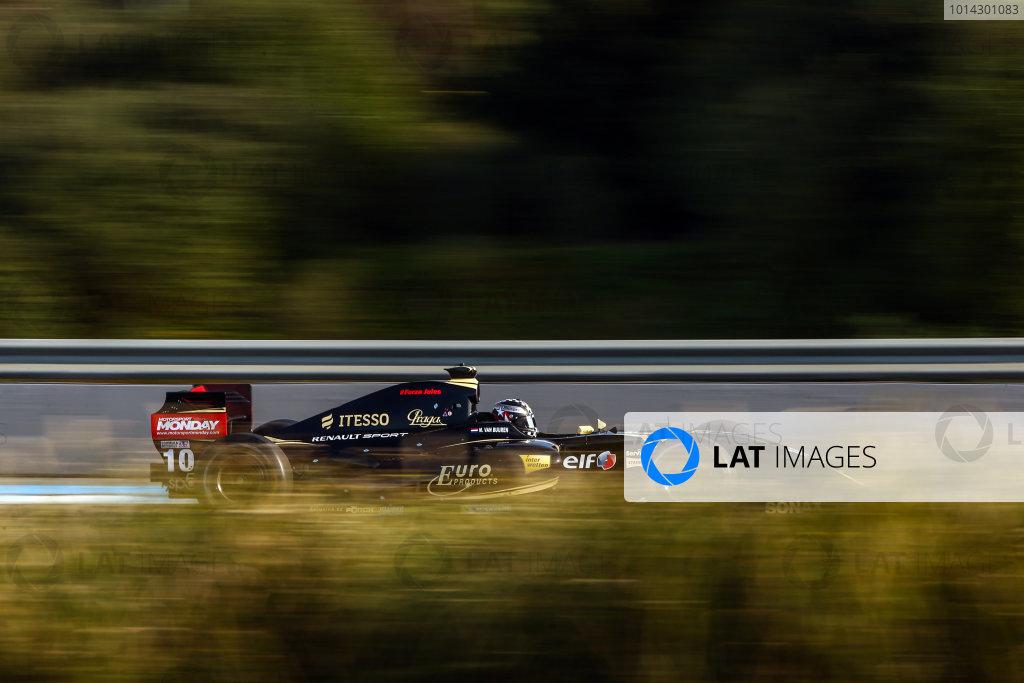 JEREZ (ESP) MRT 4-6 2015 - First collective test of the World Series by Renault 2015 at Circuito Permanente de Jerez. Meindert van Buuren jr. #10 Lotus. Action. © 2015 Diederik van der Laan  / Dutch Photo Agency / LAT Photographic
