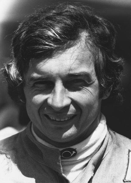 1974 Formula 1 World Championship. Jean-Pierre Beltoise (BRM P201), portrait. World Copyright: LAT Photographic. Ref: B/W Print.