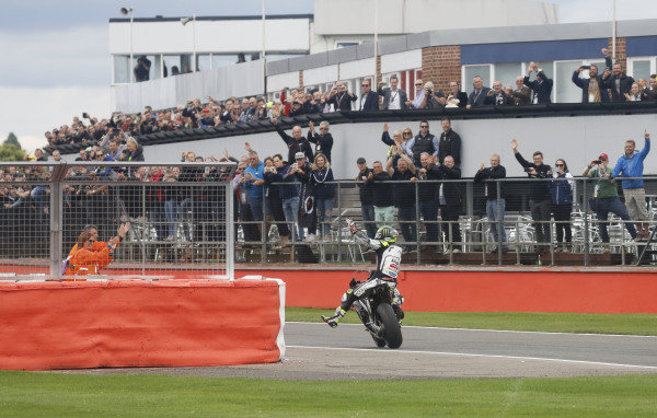 2016 MotoGP Championship.  British Grand Prix.  Silverstone, England. 2nd - 4th September 2016.  Cal Crutchlow, LCR Honda.  Ref: _W7_9392a. World copyright: Kevin Wood/LAT Photographic