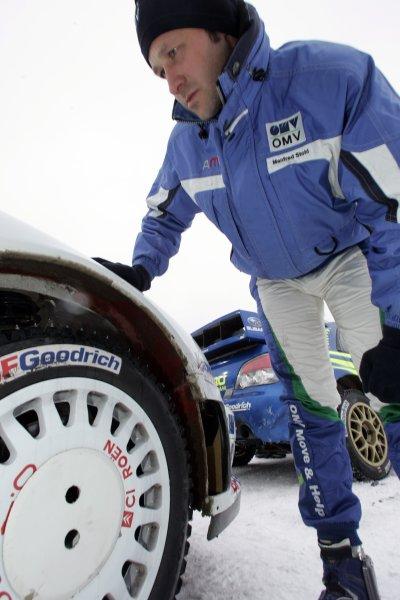 2007 FIA World Rally Championship,Round 2 Swedish Rally 8th-11th February 2007,Manfred Stohl, Citroen, portrait.Worldwide Copyright McKlein/LAT.