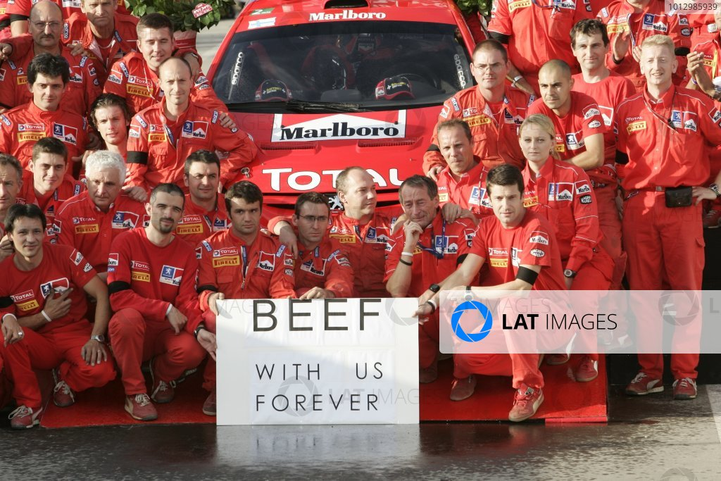 2005 FIA World Rally Championship.