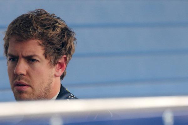 Sebastian Vettel (GER) Red Bull Racing. Formula One Testing, Jerez, Spain, Day One, Tuesday 28 January 2014.