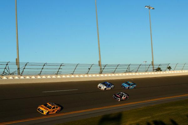 12-13 February, 2016, Daytona Beach, Florida, USA Kyle Busch, M&M's 75 Toyota Camry, Austin Dillon, Kevin Harvick, Aric Almirola ?2016, Michael L. Levitt LAT Photo USA