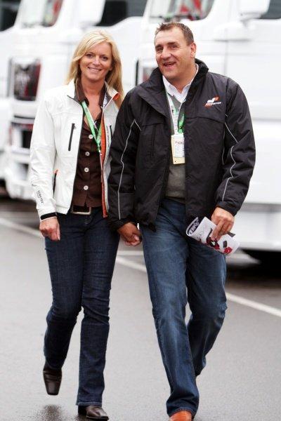 Simon Gillett (GBR) CEO Donington Park.  Formula One World Championship, Rd 9, British Grand Prix, Race, Silverstone, England, Sunday 6 July 2008.