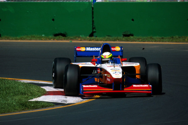 Albert Park, Melbourne, Australia.7-9 March 1997.Ricardo Rosset (Lola T97/30 Ford) did not qualify.Ref-97 AUS 10.World Copyright - LAT Photographic