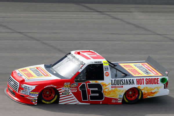 #13: Myatt Snider, ThorSport Racing, Ford F-150 Louisiana Hot Sauce