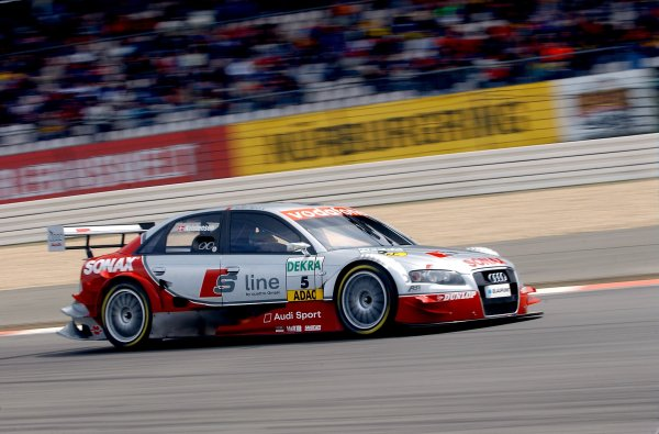 2005 DTM Championship Nurburgring, Germany. 6th - 7th August 2005Tom Kristensen (Abt Audi A4). Action.World Copyright: Andre Irlmeier / LAT Photographic ref: Digital Image Only