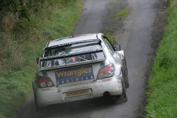 2007 British Rally Championship,Ulster Rally, Northern Ireland,31st August/1st September 2007,Eugene Donnelly,World Copyright: Ebrey/LAT Photographic