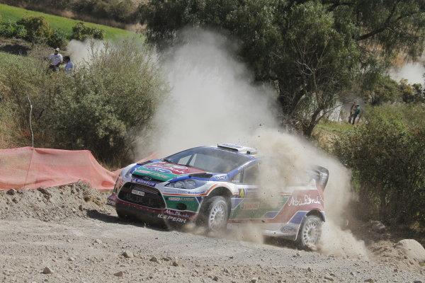 Round 2, Rally of Mexico, 3rd-6th March 2011Jari-Matti Latvala, Mika Anttila, Ford Fiesta RS WRC, Action, Worldwide Copyright: McKlein/LAT