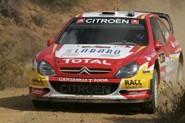 2006 FIA World Rally Champs. Round twelveCyprus Rally.21st - 24th September 2006.Dani Sordo, Citroen, action.World Copyright: McKlein/LAT