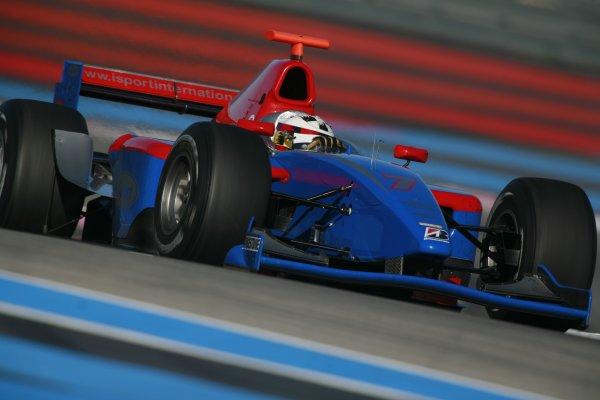 2006 GP2 Testing  - Paul Ricard. France. 1st November 2006Borja Garcia (ESP) iSport International.Photo: Malcolm Griffiths/GP2 Media Serviceref: Digital Image Onlyce