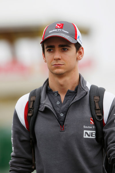 Interlagos, Sao Paulo, Brazil. Friday 7 November 2014. Esteban Gutierrez, Sauber. World Copyright: Charles Coates/LAT Photographic. ref: Digital Image _N7T7335