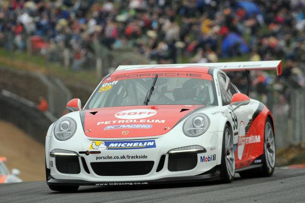 2014 Porsche Carrera Cup Great Britain,Brands Hatch, 29th-30th March 2014, Will Goff (GBR)World copyright. Jakob Ebrey/LAT Photographic