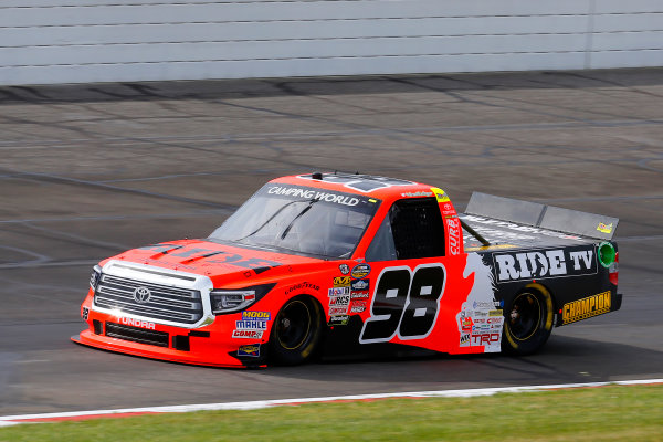 NASCAR Camping World Truck Series Drivin? For Linemen 200 Gateway Motorsports Park, Madison, IL USA Saturday 17 June 2017 Grant Enfinger, Ride TV Toyota Tundra World Copyright: Russell LaBounty LAT Images