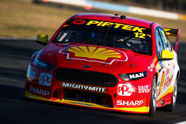 2017 Supercars Championship Round 8.  Ipswich SuperSprint, Queensland Raceway, Queensland, Australia. Friday 28th July to Sunday 30th July 2017. Fabian Coulthard, Team Penske Ford.  World Copyright: Daniel Kalisz/ LAT Images Ref: Digital Image 280717_VASCR8_DKIMG_8211.jpg