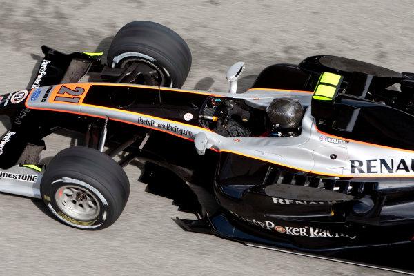 Jerez, Spain. Thursday 8th October. William Bratt (GBR, Party Poker Racing Com Scuderia Coloni). Action.  World Copyright: Alastair Staley/ GP2 Series Media Service.Ref: _O9T7301 jpg