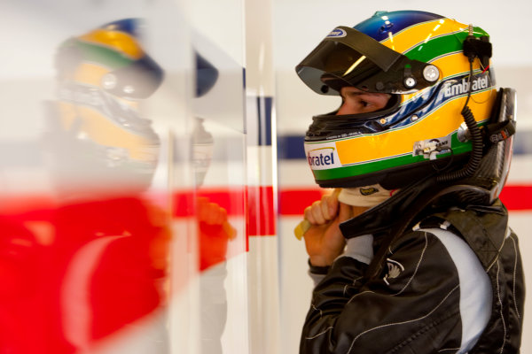 Jerez, Spain. Thursday 8th October. Bruno Senna (BRA, iSport International). Portrait.  World Copyright: Alastair Staley/ GP2 Series Media Service.Ref: _O9T7464 jpg