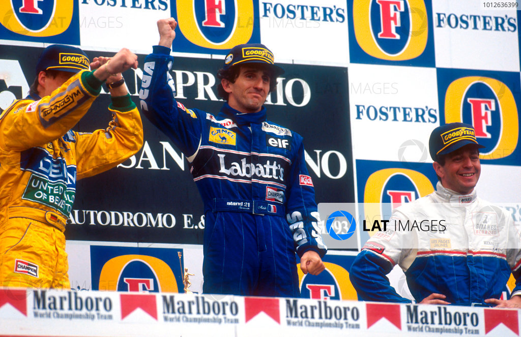 1993 San Marino Grand Prix.
