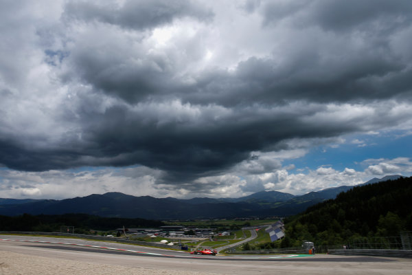 Red Bull Ring, Spielberg, Austria. Wednesday 24 June 2015. Esteban Gutierrez, Ferrari SF15-T.  World Copyright: Glenn Dunbar/LAT Photographic. ref: Digital Image _W2Q5873