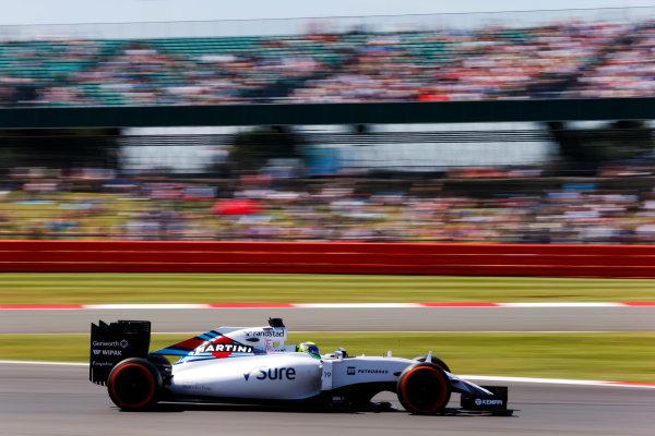 Silverstone, Northamptonshire, England. Friday 03 July 2015. Felipe Massa, Williams FW37 Mercedes. World Copyright: Steven Tee/LAT Photographic. ref: Digital Image _L4R2411